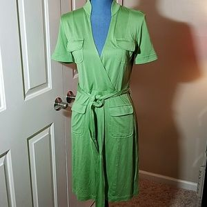 Vibrant Green Banana Republic Dress Size Small